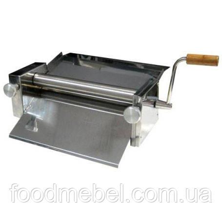 Тестораскатка ручная ТР-1-12 для чебуреков из нержавеющей стали