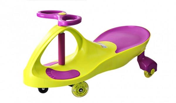 Smart Сar KIDIGO  NEW GREEN с полиуретановыми колесами SM-GP