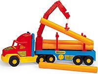 Детский грузовик с краном Wader Super Truck 36540