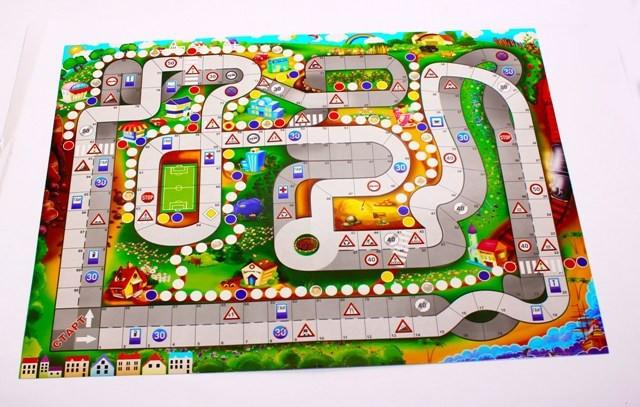 Игра настольная большая Правила дорожного движения Danko toys (PravD)