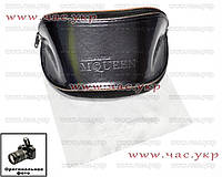 Кожаный футляр для солнцезащитных очков Alexander McQueen комплект чехол Александр Маккуин Маквин