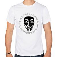 Футболка «Маска Анонимуса - We Are Legion»