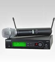 Беспроводной микрофон Shure DM SLX радиомикрофон с базой