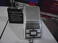 Весы карманные Pocet Scale , ювелирные, мини весы, 100 г, 200г, 300г, 500г весы,POCKET SCALE