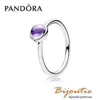 Pandora кольцо ЦВЕТНАЯ КАПЛЯ  №190983ACZ серебро 925 Пандора оригинал