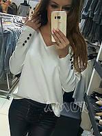 Кофта женская белая СО/-101