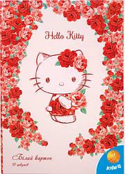 Картон белый двухсторонний Hello Kitty от «Kite»