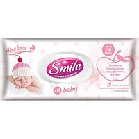 Влажные салфетки Smile Baby, для новорожденных, 72 шт./уп.