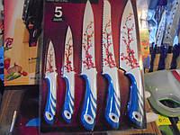 Набор ножей A-Plus 1008, набор ножей, 5 предметов, А-плюс, , кухонные ножи. столовые ножи. подставки для ножей, фото 1