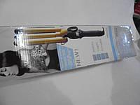 Тройная плойка M-602 C, профессиональная плойка, гофре, приборы для укладки волос, выпрямитель