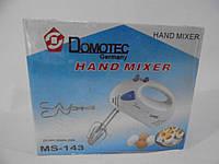 Миксер Domotec MS-143, миксер Домотек, Германия, миксеры, товары для кухни, блендеры, миксер 133, фото 1