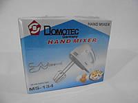 Миксер Domotec MS-134, Домотэк миксер, миксеры, товары для кухни, блендеры, миксер ручной, фото 1