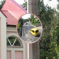 Уличное сферическое зеркало UNI 900