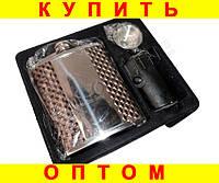 Подарочный набор Фляга 4 рюмки воронка Питон