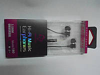 Наушники Hi-fi music 180 , наушники, гарнитура, аудиотехника, вакуумные