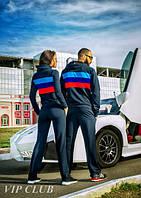 Мужской спортивный костюм BMW на молнии с капюшоном