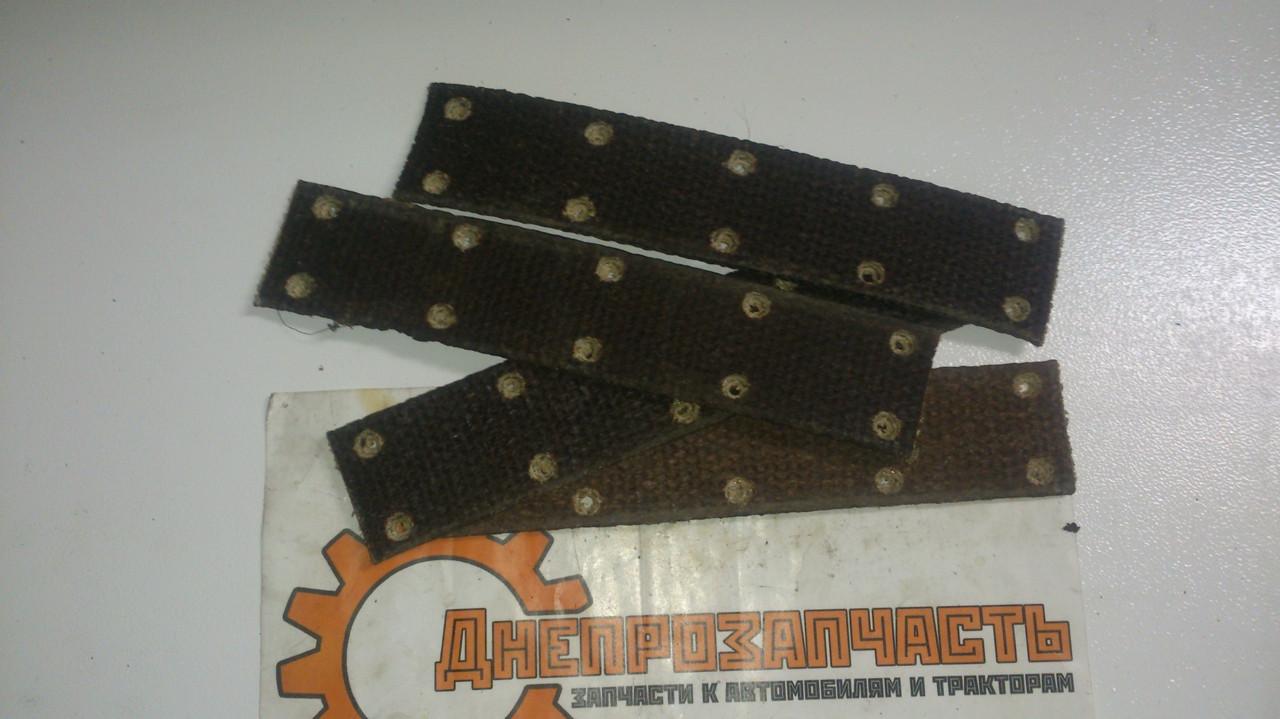 Накладка колодки ЮМЗ (плетенка) 36-3502052