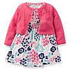 """Платье с кардиганом Carters для девочки  """"Цветочек"""""""
