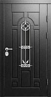 Дверь входная металлическая СТЕКЛО+КОВКА
