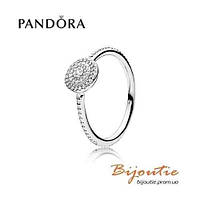 Pandora кольцо ВЕЧНАЯ КРАСОТА  №190986CZ серебро 925 Пандора оригинал