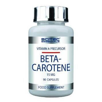 Beta Carotene Scitec Nutrition 90 caps, фото 2