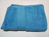 Полотенце махровое 50х90-100 цвет морская волна, Туркменистан