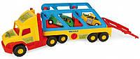 Детский грузовик с машинками Wader Super Truck 36640, фото 1