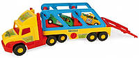 Детский грузовик с машинками Wader Super Truck 36640