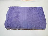 Полотенце махровое 50х90-100 цвет сиреневый, Туркменистан