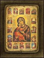 Икона Пресвятой Богородицы Замилования Владимирская