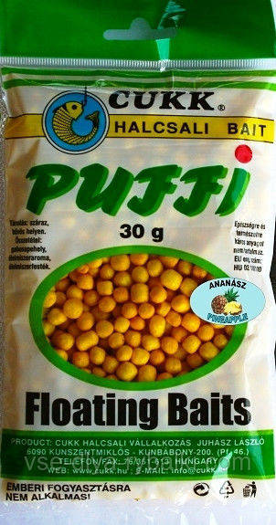 "Воздушное тесто Cukk Puffi ""Ананас"""
