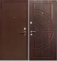 Дверь входная Порошок+ МДФ №1