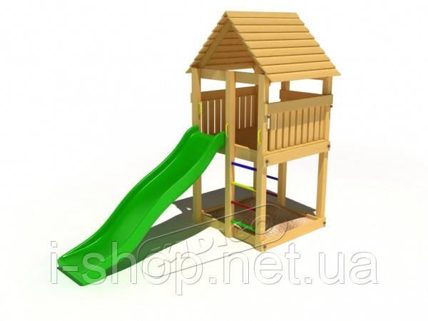 Детский комплекс Милый DKD005PP (высота горки 1,5 м)
