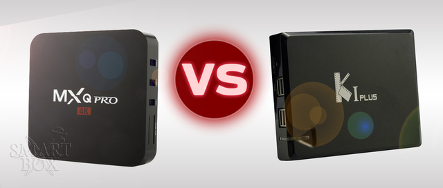 Обзор - сравнение приставки смарт тв MXq Pro 4K Videostrong K1 Plus