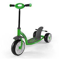 Самокат Milly Mally Crazy Scooter зеленый - Scoot_001