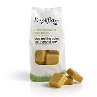Горячий воск Depilflax Натуральный 1 кг