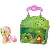 Игровой мини набор Пони Мейнхеттен Коттедж Флаттершай (My Little Pony)