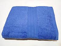 Полотенце махровое 50х90-100 цвет синий, Туркменистан