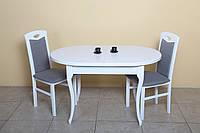 Стол обеденный раскладной Вена-3 (белый)