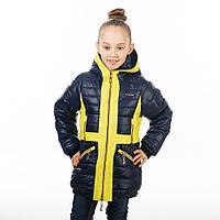 Весенняя куртка для девочки на рост 122-146 см