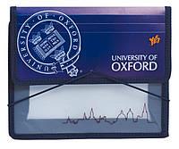 Папка для тетрадей пласт. на резинке В5 ''Оксфорд''