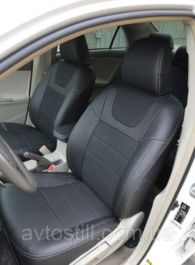 Чехлы в салон Toyota Corolla (2007-2013)