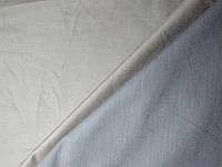 Ткань костюмная -котон светло-серая диагональ средней плотности №A1