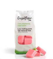 Горячий воск Depilflax Роза 1 кг