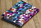Разноцветная обложка для паспорта с эко-кожи + блокнот BlankNote BN-OP-KZ-26, фото 2