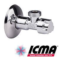 Приборный хромированный кран 1/2*1/2 Icma 519