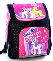 Рюкзак школьный ортопедический «Pony» 7779