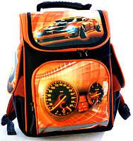 Ранец школьный ортопедический Hot Wheels 7776