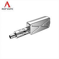 Бокс-мод Rofvape A Box Mini 50W TC Atomizer Kit Silver