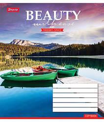 Тетрадь 1Вересня 48 листов.линия.Красота природы